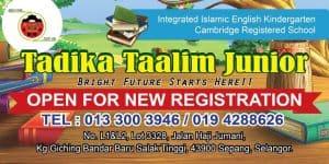 Tadika Islam Taalim Junior Sepang Selangor